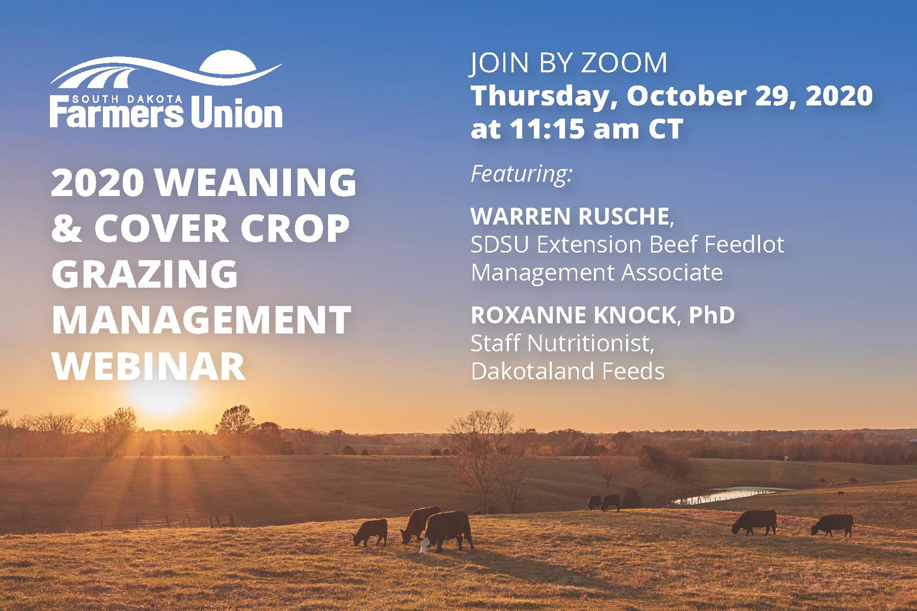 10292020 Sd Farmers Union Zoom Call Postcard Page 1