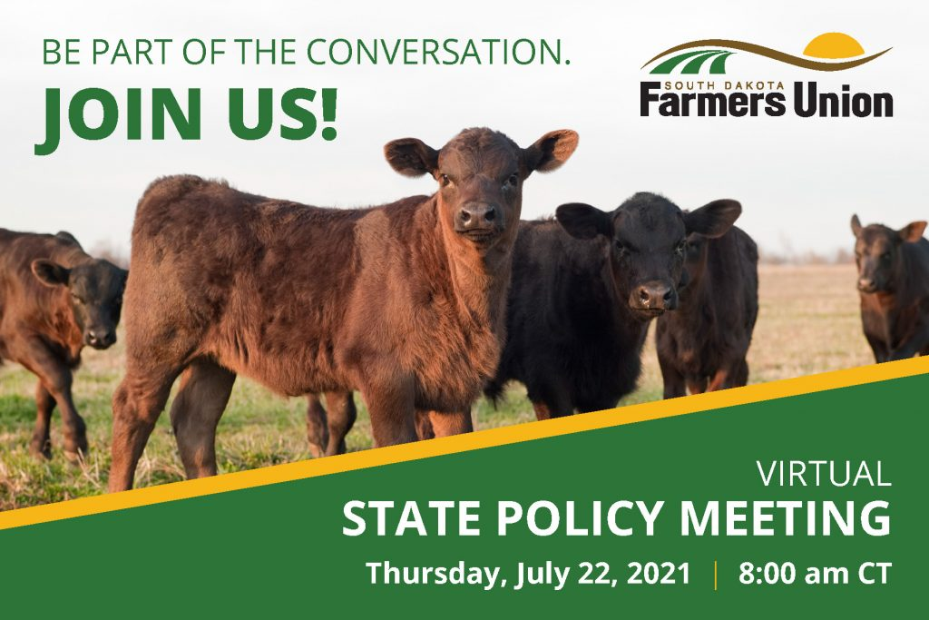 2021 Sd Farmers Union Policy Meeting Postcard 1 Page 1